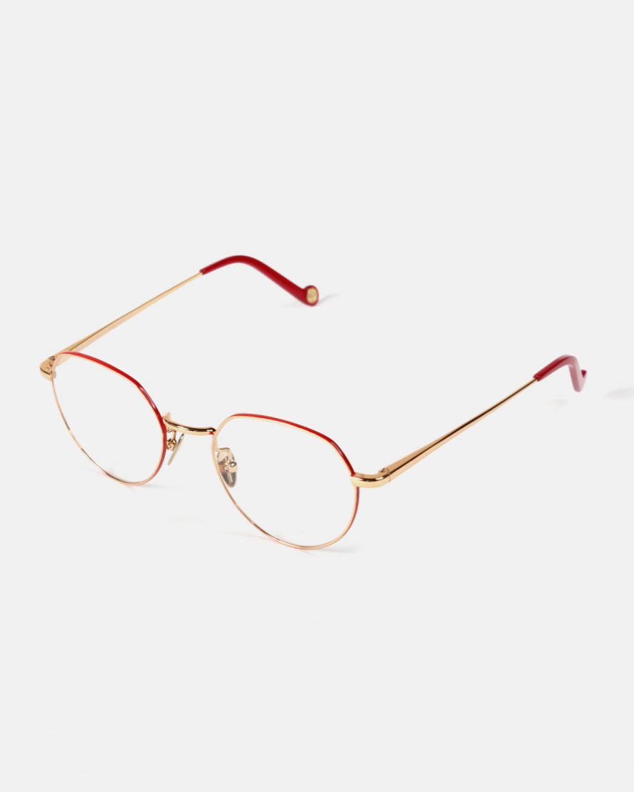 Lunettes Biscarosse Or Rouge